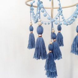 Chief Thundercloud Co | beautiful handmade tassel and felt décor: dream catcher inspired wall hangings, banners, garlands and mobiles | www.nestlingcollective.com