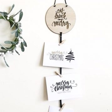 'Tis the season for Christmas décor! And it's a tinsel-free zone…