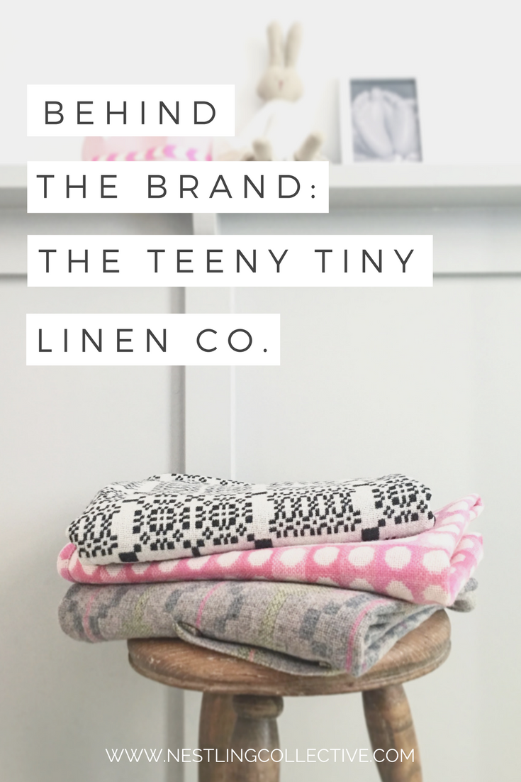 We get personal with Nerys from The Teeny Tiny Linen Co! Find out how this beautiful biz came to life, and how you can add a little bit of grown-up luxury to your baby's room with natural fibre children's bed linen. Nursery Linen | Eco Nursery | Natural Baby