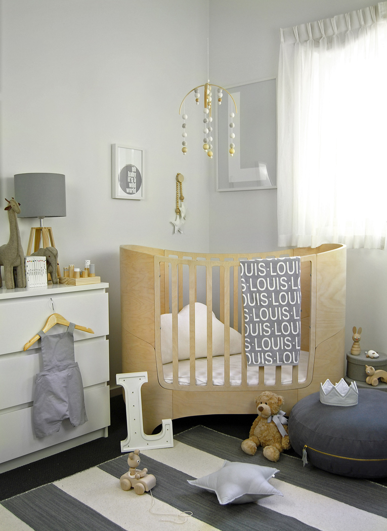 Monochrome Nursery trends HoneyPunch