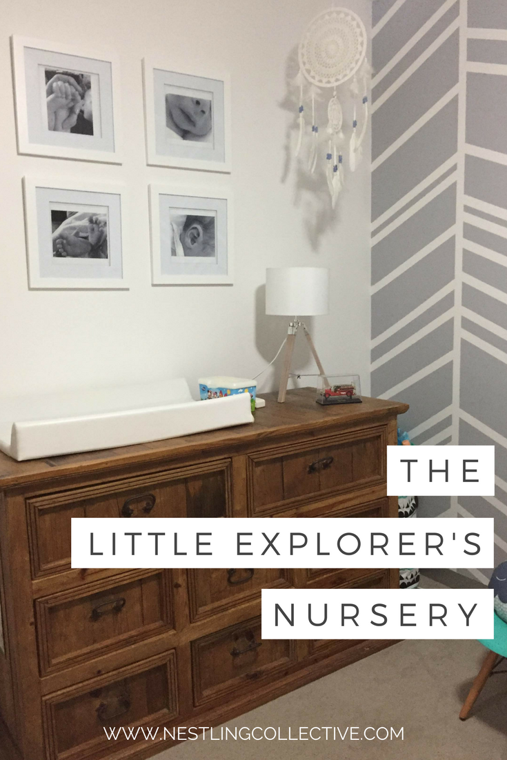 A love of travel and exploring the world has inspired this simple yet stunning nursery for little Cooper. Beautiful statement pieces and DIY touches make this nursery the perfect space for a tiny traveler. Neutral Nursery | Rustic Nursery | Nursery Decor