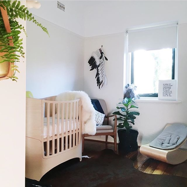 Creating a Healthy and Sustainable Nursery | www.nestlingcollective.com