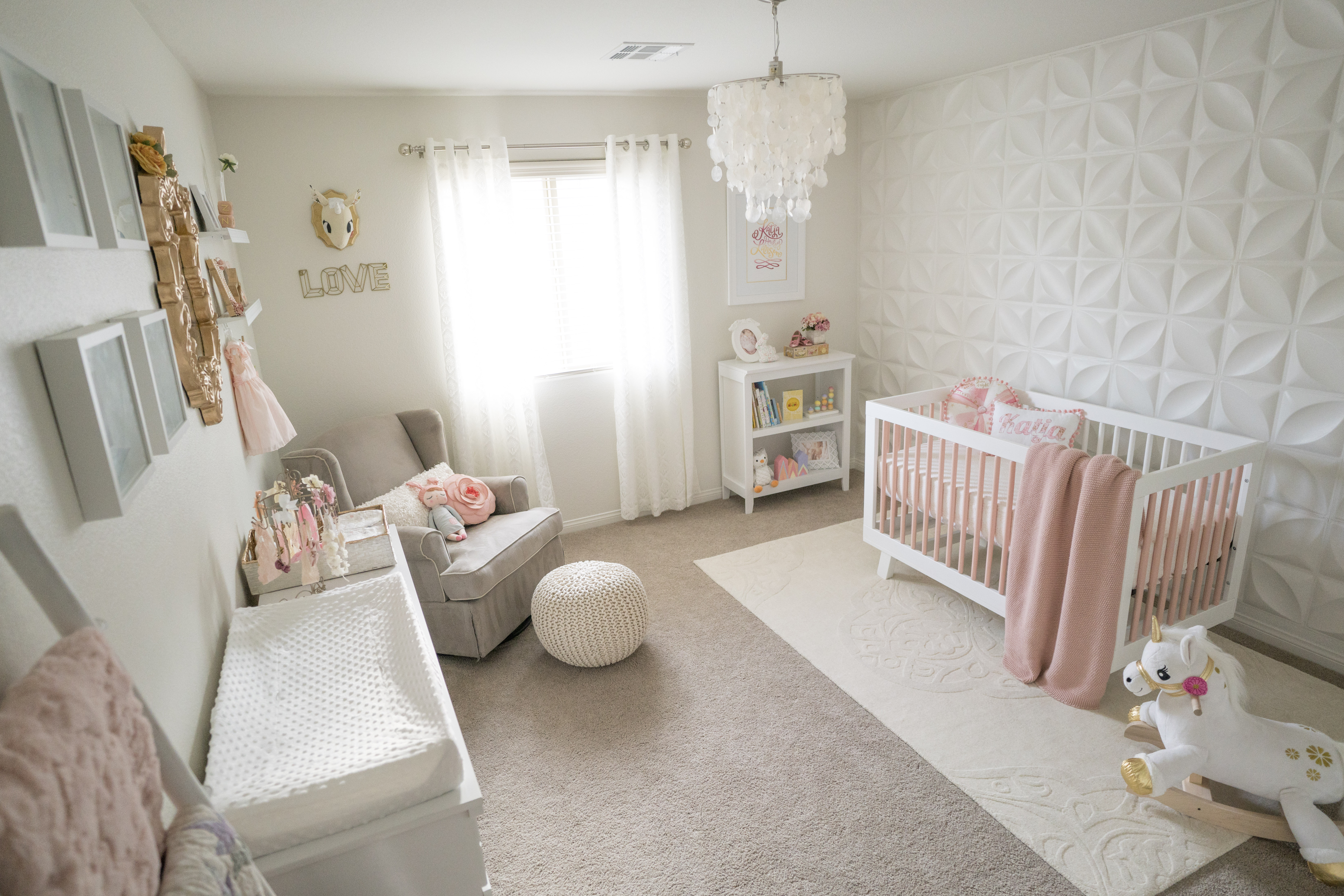 Real Nursery Styl Katje S Room A Modern And Elegant Pink Www