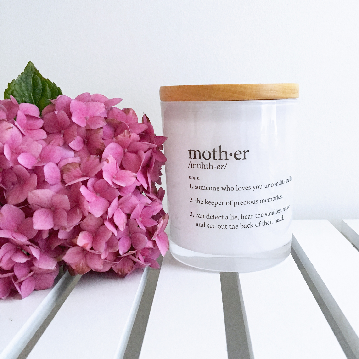 Alma Custom Designs | Mother Definition Candle $42 | www.nestlingcollective.com