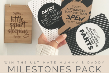 Alma Custom Designs Milestones Cards Giveaway