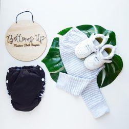 Bottoms Up MCN + Jnr | Trendy modern cloth nappies and street style wear for kids | www.nestlingcollective.com