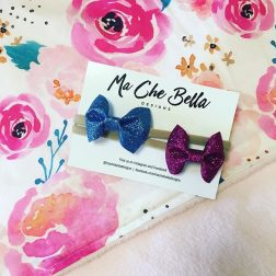 Ma Che Bella Designs | Handmade dribble bibs, cuddle blankets, hair accessories and teething toys | www.nestlingcollective.com