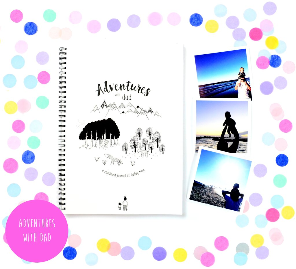 Nestling Collective Fathers Day Edit | BlueberryCo | Adventures with Dad Memory Book