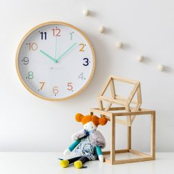 Clocksicle | Colourful and stylish clocks designed specifically for children | www.nestlingcollective.com