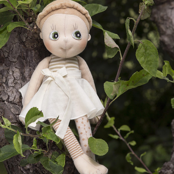 "Eco Buds Handmade Doll ""Hazel"" 