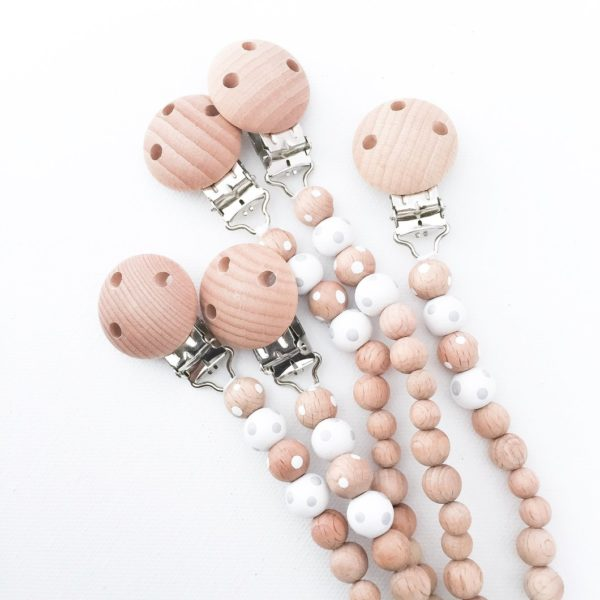 Pop Ya Tot Wooden Dummy Chain | www.nestlingcollective.com