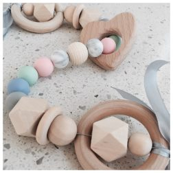 Tiny Teether | Beautiful and affordable teethers for your little one | www.nestlingcollective.com
