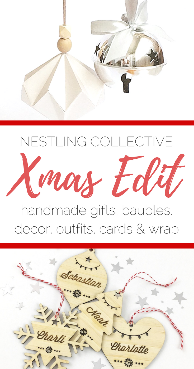 The Christmas Edit by Nestling Collective | www.nestlingcollective.com