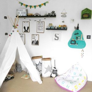 Samuel's Room: A bold, colourful PUNCH! | www.nestlingcollective.com