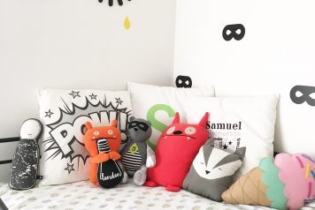 Samuel's Room: A bold, colourful PUNCH!