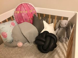 Andie's Room: Gorgeous Shades of Gray and Pink | www.nestlingcollective.